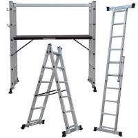 Quality Ladders 2.7m 5 Way Scaffold Platform Multi Purpose Step Ladder for sale