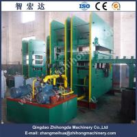 Quality 1800T Single Layer Vulcanizing Press for Making Rubber Mat/Flooring for sale