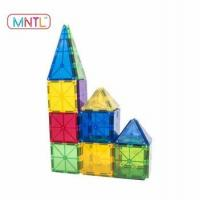 MNTL 36 PCS Happy Kid Toy Connecting Blocks Magnetic Building Tiles
