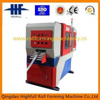 Rolled punched machine with automatic steel