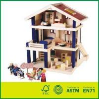 Quality High Quality Wooden Uptown Dolls Cottage With Doll House for sale