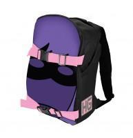 "Quality Keychains & Bag Clips Kick-Ass 2  Hit-Girl Mask"" Double-Buckle Backpack for sale"