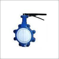 Quality PTFE Seated Lug Butterfly Valves for sale