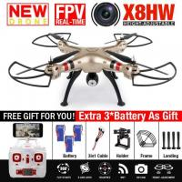 Quality NEW SYMA X8HW FPV RC Drone With 2MP WIFI Camera 6-Axis RTF Dron Hovering Positio for sale