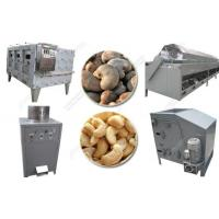 Quality Cashew Nut Shelling and Roasting Machine Line for sale