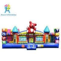 Toddler Play Area Kids outdoor Toy Town inflatable play center