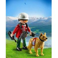 Playmobil #5431 - Mountain Rescuer with Search Dog