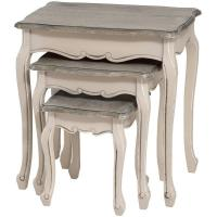 Quality French Manor Set Of 3 Nest Of Tables for sale
