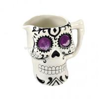 Buy cheap Great Day Of The Dead Ceramic Skull Mug from wholesalers