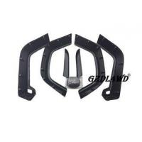 Quality Auto Body Parts Wheel Fender Flares Jeep Wrangler TJ 4x4 6PCS , Plastic Fender Flares for sale
