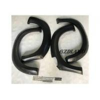 Quality Isuzu Dmax Wheel Arch Flares , Pickup Wheel Fender Flares 4PCS ABS Plastic for sale
