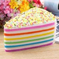 """Toy Big 5.5"""" Cheese Cake Super Slow Rising Soft Simulation Squishy Collection"""