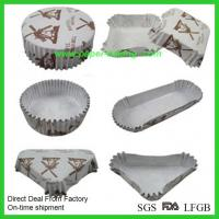 China Large Muffin Pan Cupcake Paper Liners on sale