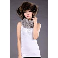 Quality Sheep Leather+Raccoon Fur Hat for sale
