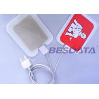 Quality Self Adhesive AED Defibrillator Pads / Pediatric Defibrillation Pads For Training for sale