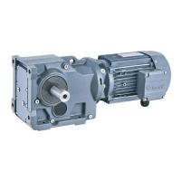 MBK series bevel gear motor