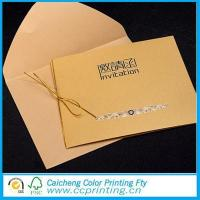 Quality Gift Card Wedding with Ribbon for sale