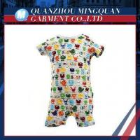 colorful echo-friendly dyeing and printing newborn baby wear