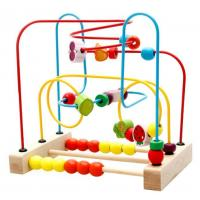 Wooden toys HM013467wooden Fruit bead toys