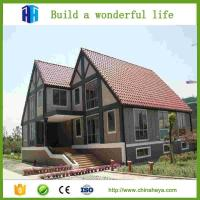 Quality New design residential steel house cheap mobile prefab house for sale