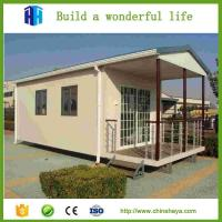 Quality Export cheap light steel eps rock wool sandwich compound movable house for sale