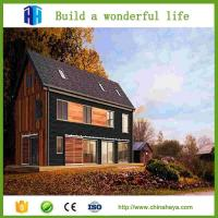 Quality EPS sanwich panel double storey prefabricetd house for sale