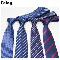 Quality Customized Polyester Silk Neck Ties For Men for sale