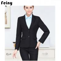 Quality Women Custom Office Lady Blazers for sale