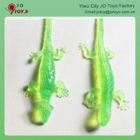 TPR Sticky Small Colorful Wall Gecko Toys For Capsule Toy