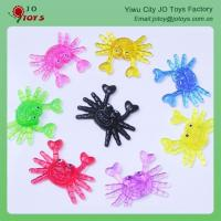 Wholesale Cheap Children's Toys Mini Sticky Crab For Capsule Toy