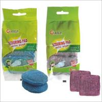Quality Scouring Pad with Soap for sale
