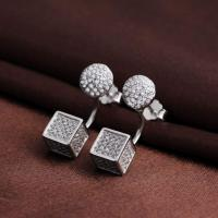 China The Latest Hot Sale Fashion Earrings With Diamond For Women on sale