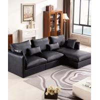 Quality Apartment Leather L Shaped Corner Sofa for sale