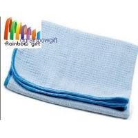 China RG-M052 microfiber waffle cleaning cloth towel on sale