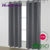 Quality cheap curtains eyelet blackout curtain,window curtains readymade blackout curtain for sale
