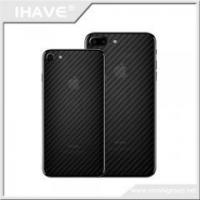 China MSC006 Ultra Clear Carbon Fibre Leather Back Screen Protector on sale