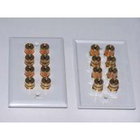 China Audio / Video Wall Plates 8 Post Speaker Wall Plate on sale