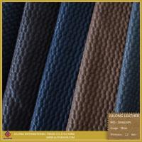 Quality PU Artificial Net Design Shoes Leather for sale