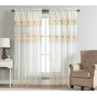 Quality macrame voile curtain for sale