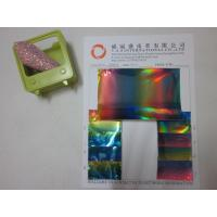 Quality Holographic PVC leatherette Product IDLYH804 for sale