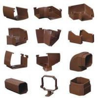 Quality High Quality Brown Resin Gutters and Downspouts for sale