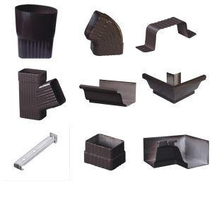 Buy 6 Inch Aluminum Rain Gutters Half Round Gutters at wholesale prices
