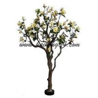 China Artificial Silk Magnolia Flower Tree Plant For Indoor Decor wholesale