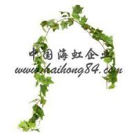 China Artificial Silk Plastic Ivy Pothos Fittonia Leaves Vine Rattan wholesale