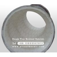 Buy cheap wear resistant ceramic tile lined elbow from wholesalers
