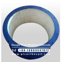 Buy cheap wear resistant ceramic lined short pipe from wholesalers