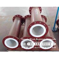 Buy cheap alumina ceramic lined straight steel pipe from wholesalers