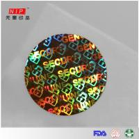 Quality General design Hologram anti-fake sticker for clothing label for sale
