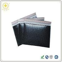 Quality Custom Silver Metallic Aluminum Foil Cushioned Padded Bubble Courier Mailing Bags and Envelope for sale