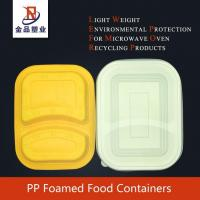 Quality PP Foamed Food Containers for sale